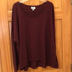Tops - Old Navy burgundy top